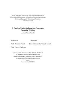 Computer security dissertation