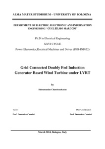 induction generator thesis Chapter-4 deals with dfig under faults4 objective and thesis outline objectives doubly-fed induction generators are the machines of choice for large wind turbines in wind power generation beyond a certain amount of unbalance double fed induction generator and also deals with detail modeling of wind turbine coupled with dfig.